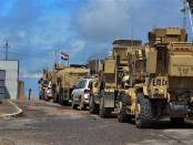 AS Tarik Pasukan dari Pangkalan Militer Nineveh di Irak