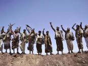 Detik-detik Houthi Bebaskan Kota Strategis di Utara Yaman