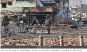 Media India Sebut ACT Kirim Sumbangan untuk Biayai Kerusuhan SARA di New Delhi