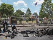 Ledakan Bom Kembar di Thailand, 20 Orang Luka-luka
