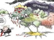 Melonjak Tajam, AS Negara Terbanyak ke-3 Kasus COVID-19 di Dunia