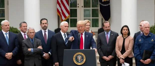 Potret Sosial Distancing Ala Trump Vs Pemimpin Dunia