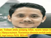 """Surat Balasan Menohok Pedagang Makanan Kepada Ryan Hidayat """"Andalah Virus Bangsa"""""""