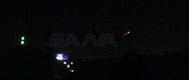 Video: Pertahanan Udara Suriah Cegat Serangan Rudal Israel di Timur Homs