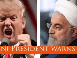 Komentar Pedas Rouhani ke AS: Jalur Air ini Bernama Teluk Persia Bukan Teluk New York