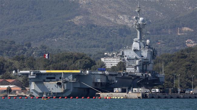 Setengah dari Awak Kapal Induk Perancis Positif COVID-19