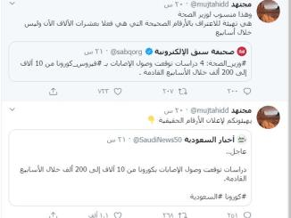 Warbler: Menkes Saudi Akui Jumlah Kasus Covid-19 Capai 200 Ribu Orang