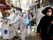 Jumlah Kasus Corona di Korea Selatan Turun Drastis