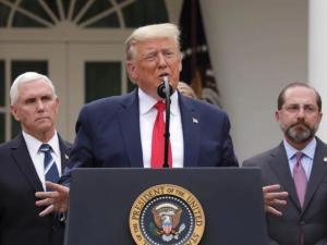Tuduh WHO Pro-China, Trump Ancam Hentikan Pendanaan AS