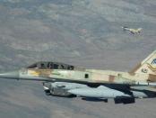 Jet-jet Israel Mata-matai Perbatasan Suriah dari Langit Lebanon