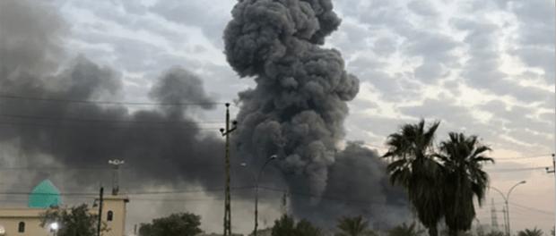 Tiga Roket Tak Dikenal Serang Bandara Militer Baghdad