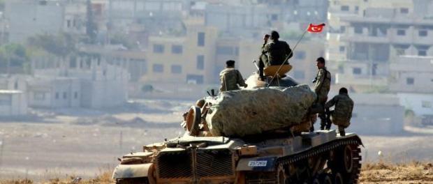 Tentara Turki Serang Pos Militer Suriah di Hasakah