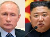 Putin Anugerahkan Medali Perang Dunia II ke Kim Jong-Un