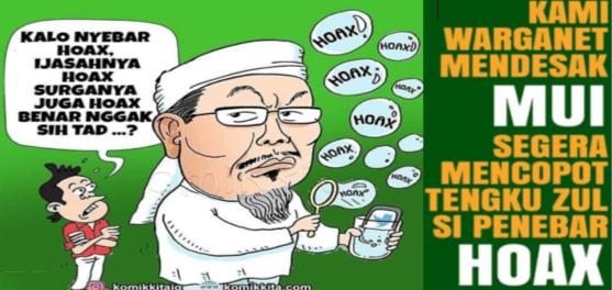 Yusuf Muhammad: Tengku Zulkarnaen Produsen Hoax?