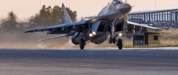 Suriah Bombardir Teroris Gunakan Jet Super Canggih MiG-29 Rusia