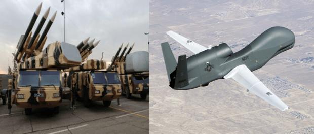 Ahli Rusia: Drone Mata-mata Super Canggih AS Ditembak Jatuh Rudal Mistis Iran