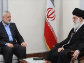 Surati Pimpinan Hamas, Ali Khamenei: Iran Dukung Penuh Palestina