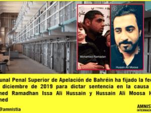 Pengadilan Bahrain Vonis Mati 2 Aktivis Pasca Disiksa Secara Keji