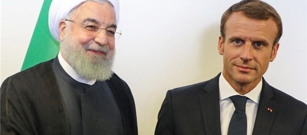 Rouhani-Macron Bahas Perkembangan Terbaru Lebanon