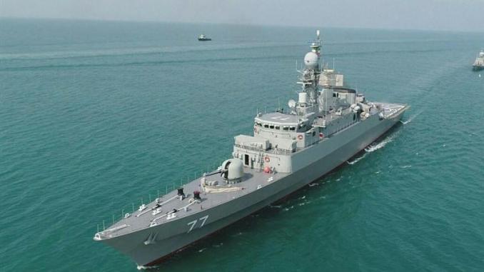 Iran Umumkan Pengiriman Rudal Jelajah Abu Mahdi ke Angkatan Laut