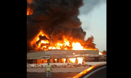 Video: Kebakaran Besar Landa Pasar UEA, Sehari Pasca Ledakan Beirut
