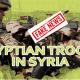 Media Turki Bohong, Tak Ada Pengerahan Tentara Mesir ke Suriah