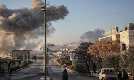 Bomber Suriah Bombardir Gudang Amunisi Jabhat Nusra di Pedesaan Idlib
