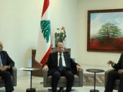 Temui Aoun, PM Baru Lebanon Konsultasikan Pembentukan Kabinet
