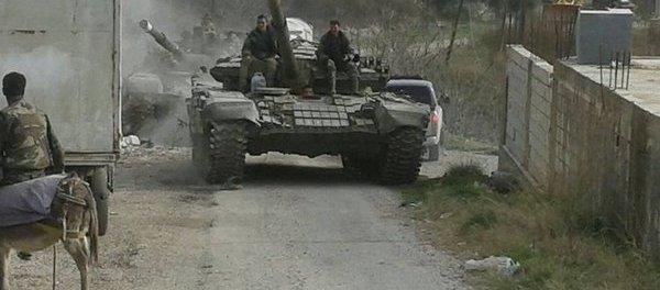 Tentara Suriah Gempur Pertahanan Teroris di Dekat Perbatasan Turki