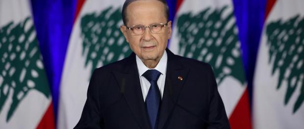 Aoun Minta PBB Paksa Israel Berhenti Gunakan Langit Lebanon untuk Serang Suriah