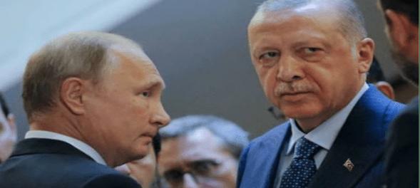 Putin Telpon Erdogan Bahas Meningkatnya Kehadiran Teroris di Karabakh