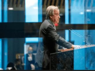 Sekjen PBB Serukan Pencabutan Sanksi Negara Terdampak Corona