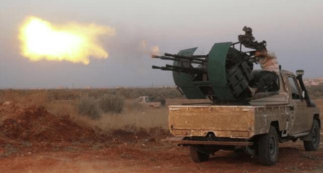 Teroris Pro Turki Balas Serangan Rusia