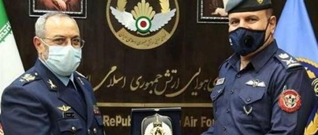 Komandan AU Iran-Irak Bahas Kerjasama Lawan Terorisme