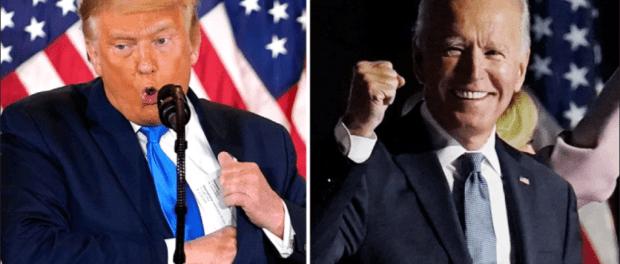 Ngamuk, Trump: Biden Menang Karena Pemilu Dicurangi!