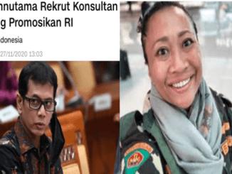 """Rekrut Konsultan Asing, Niluh Djelantik """"Semprot"""" Whisnutama"""