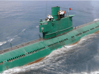 Korut Buat Kapal Selam Berkemampuan Luncurkan Rudal Balistik Canggih