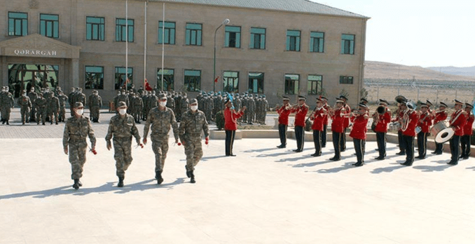 Turki Ajukan ke Parlemen untuk Penempatan Pasukan di AzerbaijanTurki Ajukan ke Parlemen untuk Penempatan Pasukan di Azerbaijan