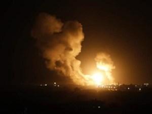 Jet Tempur Israel Lancarkan Serangan ke Jalur Gaza