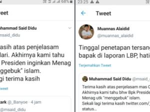 Kesal Gus Yaqut Jadi Menag, Said Didu Provokasi Adu Domba SARA