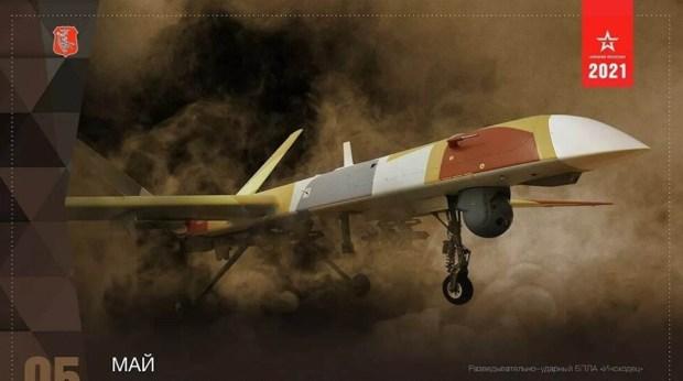 Pertama Kalinya Kemenhan Rusia Publikasikan Foto Drone Orion