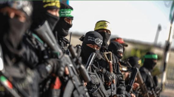 Faksi-Faksi Palestina Pertama Kalinya Gelar Manuver Militer