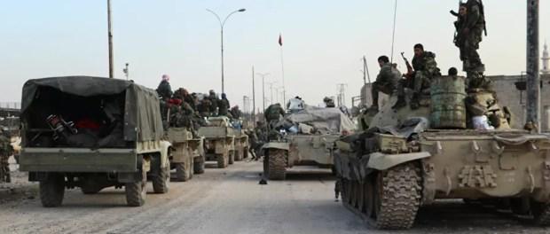 Tentara Suriah Kirim Bala Bantuan Militer ke Front Idlib dan Hama