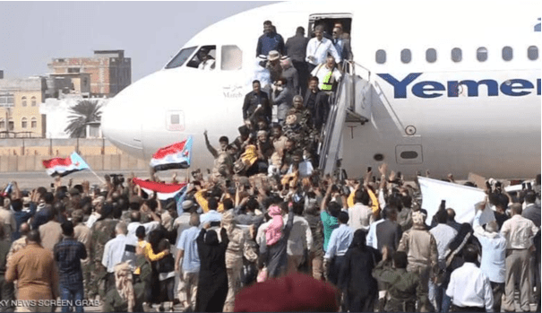 Pasca Ledakan Dahsyat di Bandara Aden, Para Menteri Yaman Pro Saudi di Evakuasi