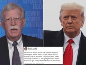 Trump: John Bolton Salah Satu Orang Terbodoh di Washington