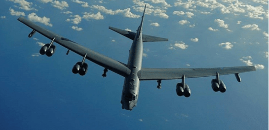 Heboh, AS Kirim Dua Pesawat Bomber B-52 ke Teluk