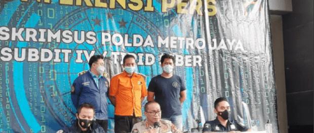 Polda Metro Jaya Tangkap Penyebar Video Adzan