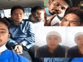 Tak Lagi Garang, Pemuda yang Ancam Penggal Kepala Polisi Ditangkap