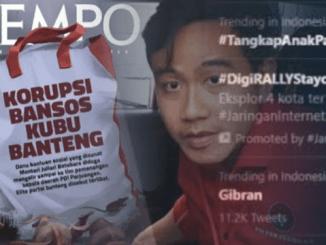 """Denny Siregar """"Sentil"""" Tempo: Majalah Salah Pasar"""