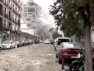 Video Ledakan Dahsyat di Madrid, 4 Orang Tewas